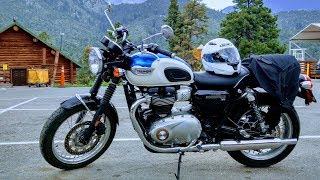 2. 2018 Triumph Bonneville T100 Ride & Review