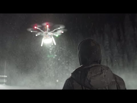 1 4 MILLION Lumen Drone LED Light