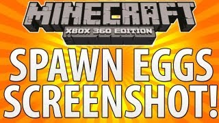 Minecraft (Xbox 360) - TU9 Update - SPAWN EGGS Confirmed + SCREENSHOT!