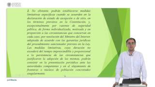La libertad de residencia y de circulacion en la Constitucion Espa?ola de 1978      UPV