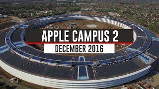 APPLE CAMPUS 2 December 2016 Update 4K