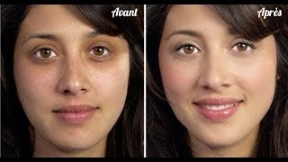 REGARDEZ les MIRACLES de  BICARBONATE sur le visage