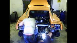 Lamborghini Gallardo Superleggera engine pull