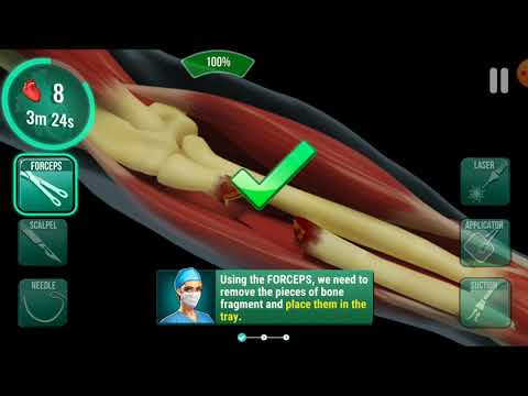 OPERATE NOW : HOSPITAL 👨⚕️😍  Part 1: Satisfying Videos  Surgical Video  Exciting Surgical Game 