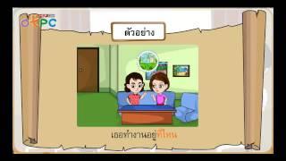 สื่อการเรียนการสอน ทบทวนประโยคต่างๆ ป.3 ภาษาไทย