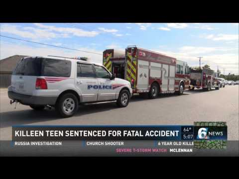 Killeen teen sentenced for fatal accident