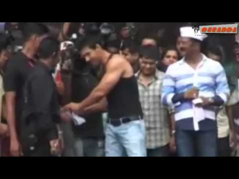 John Abraham Builds Body To Be Like Arnold.mp4