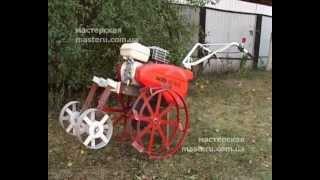 Как выкопать картошку с помощью мотокультиватора и навесного оборудования быстро и легко