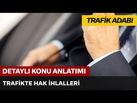 Trafikte Hak İhlalleri