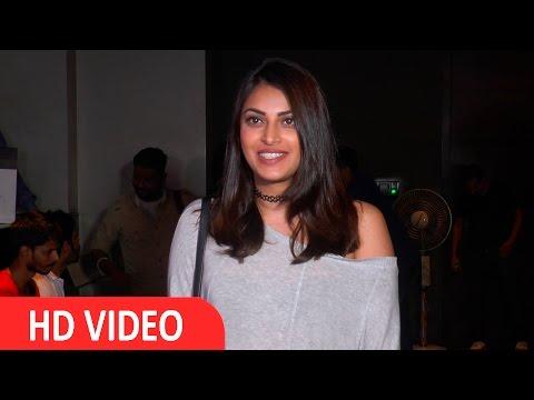 Anushka Ranjan At Screening Of Flim Madaari