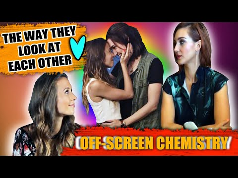 Off-Screen Chemistry of DomKat / WayHaught | The Way They Look At Each Other