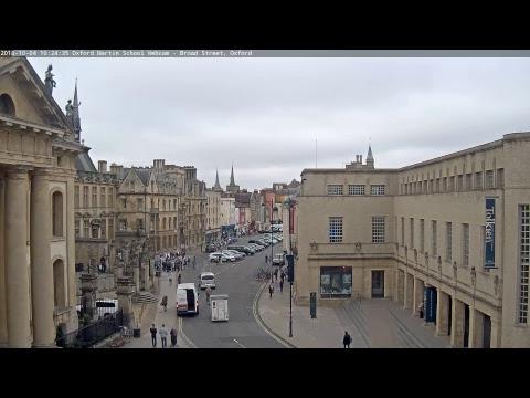 Live-Cam: Großbritannien - Oxford - Broad Street -  ...