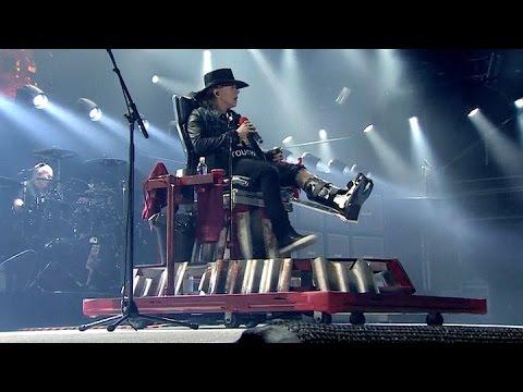 AC/DC debutó en Lisboa con Axel rose en la voz