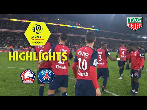 Losc - Paris Saint-germain ( 5-1 ) - Highlights - (losc - Paris) / 2018-19