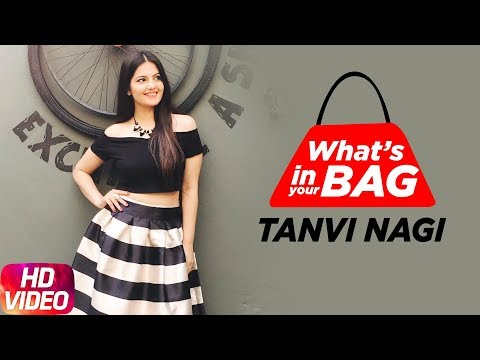 Tanvi Nagi | What's In Your Bag | Speed Records