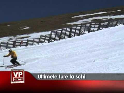 Ultimele ture la schi