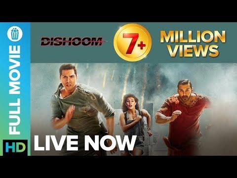 Dishoom   Full Movie LIVE on Eros Now   Varun Dhawan, Jacqueline Fernandez & John Abraham