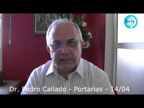 Jales - Dr Pedro Callado fala com o site A Voz das Cidades, portaria, previdência municipal, aeroporto de Jales