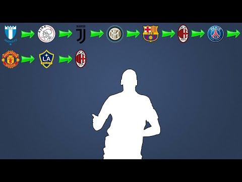 Quiz de Futebol - VocГ consegue adivinhar o jogador pelos times que ele jogou ?