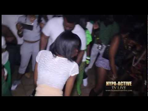 HYPAACTIVE TV LIVE 4TH ANNUAL GREEN & WHITE AFFAIR (DJ FIRE KID)