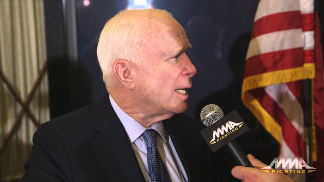 Sen. John McCain Favors Extending Muhammad Ali Act to MMA