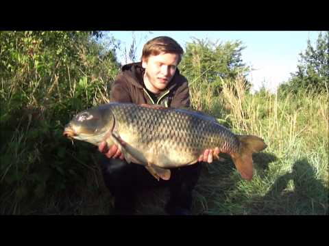 Carp session 2014 - 2015 with my girlfriend