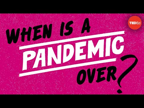 When is a pandemic over?