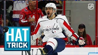 Ovi nets hat trick in second consecutive game by NHL