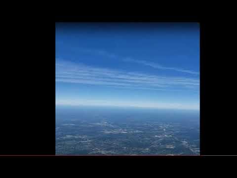 Mysterieus snel bewegend object gefilmd door vliegtuigpassagier boven Philadelphia