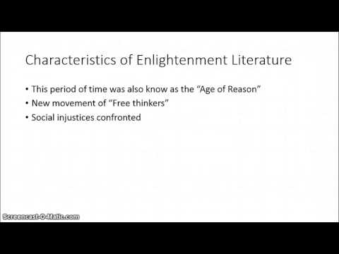 Enlightenment literature