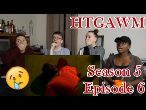 How To Get Away With Murder Season 5 Episode 6 - We Can Find Him - REACTION!!