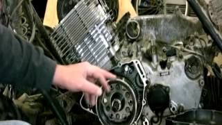 10. Removing The Fly Wheel on Yamaha Grizzly 600