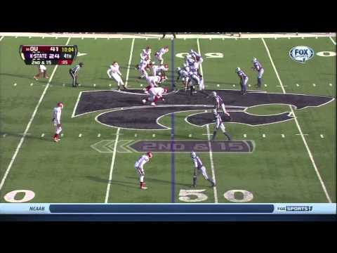 Eric Striker vs Kansas St. 2013 video.