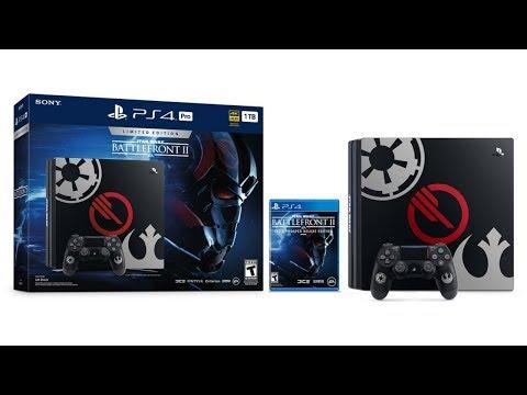 PlayStation Announces Two Star Wars Battlefront 2 PS4 Bundles. Smart Marketing but Lazy Design!