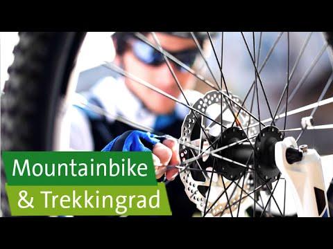 Mountainbike und Trekkingrad: Tipps für Rahmen, Sattel, Lenker und Schuhe