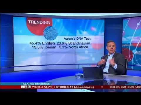 MyHeritage DNA on BBC world news