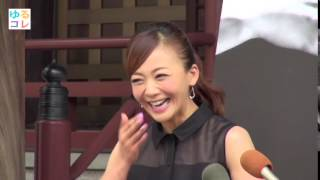 【ゆるコレ】華原朋美、イメージソングめぐってとんちんかんな会話!?
