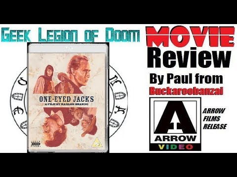 ONE-EYED JACKS ( 1961 Marlon Brando ) Western Action Movie Review 2017 Arrow Films