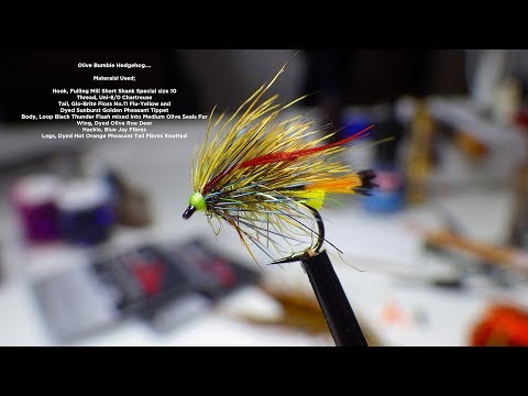 Tying A Olive Bumble Hedgehog By Davie McPhail