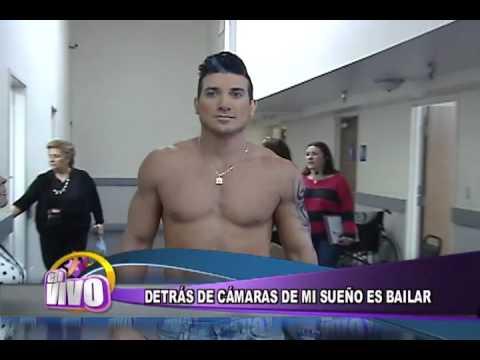 Detras camaras en Mi sueño es bailar. Informe para EN VIVO - Thumbnail
