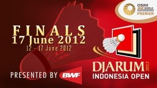 Finals - 2012 Djarum Indonesia Open