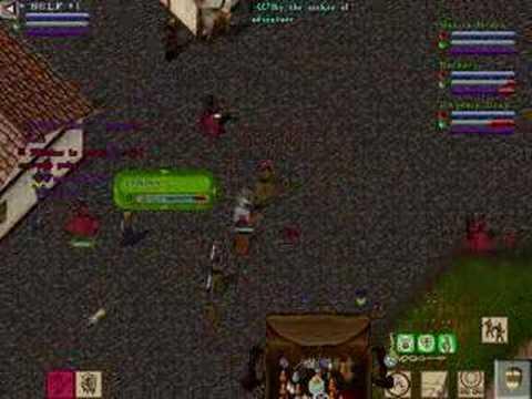 Ultima Online PvP Gameplay – Vesper Test Video