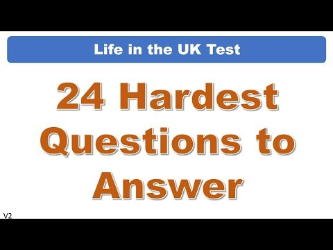 Life in the UK Test: 24 Hardest Questions to Answer