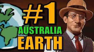 Video Civ 6: Australia Gameplay [True Start Earth Map] Let's Play Civilization 6 as Australia | Part 1 MP3, 3GP, MP4, WEBM, AVI, FLV Januari 2018