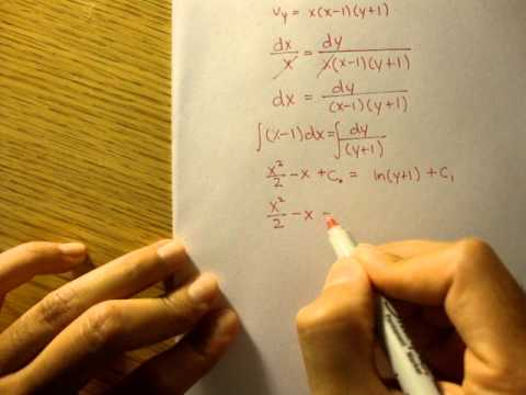 streamlines - Here is a simple streamline equation example. Its more calculus than anything. To download the notes I use for these videos, please click the following link:...