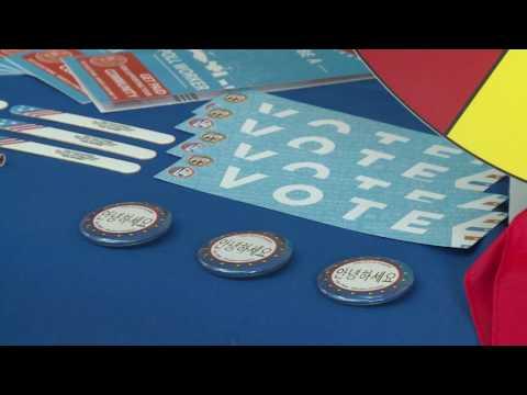유권자 등록마감, 일주일 앞으로  5.16.16  KBS America News