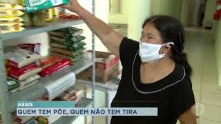 Em Assis, Equipe de saúde cria mercearia solidária para ajudar comunidade