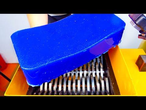 Jelly VS Shredding Machine! Awesome Video!