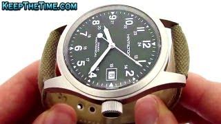 HAMILTON H69419363 KHAKI Field Mechanical Watch (Video Review) - YouTube