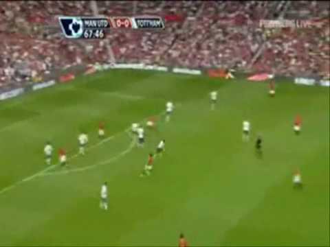 Goles y celebraciones con el Manchester